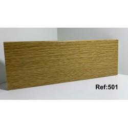 Rodapé em PVC Expandido Maciço 70x14mm Perclic Ref:501