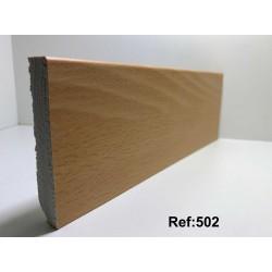 Rodapé em PVC Expandido Maciço 70x14mm Perclic -Ref:502